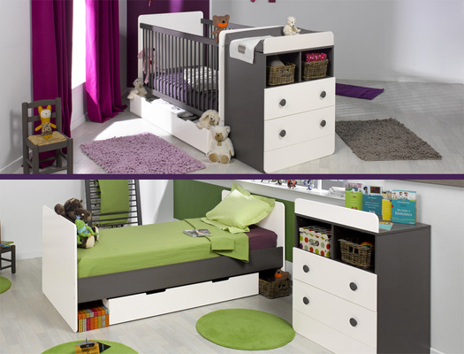 Chambre bebe evolutive but avec des id es for Une chambre complete