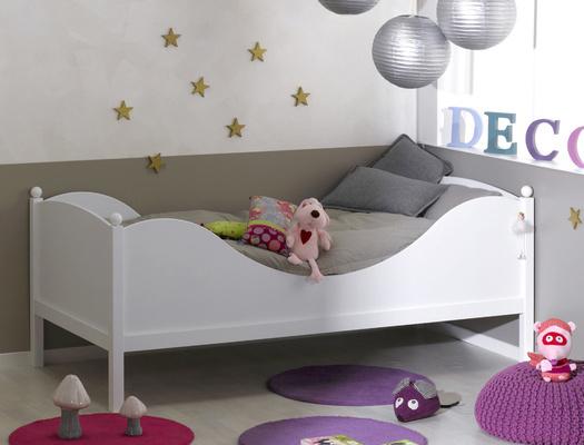 coup de coeur le lit color blanc. Black Bedroom Furniture Sets. Home Design Ideas
