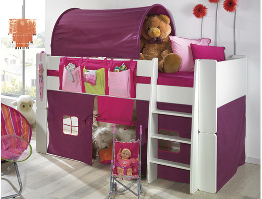 le lit enfant mi hauteur une promotion saisir. Black Bedroom Furniture Sets. Home Design Ideas