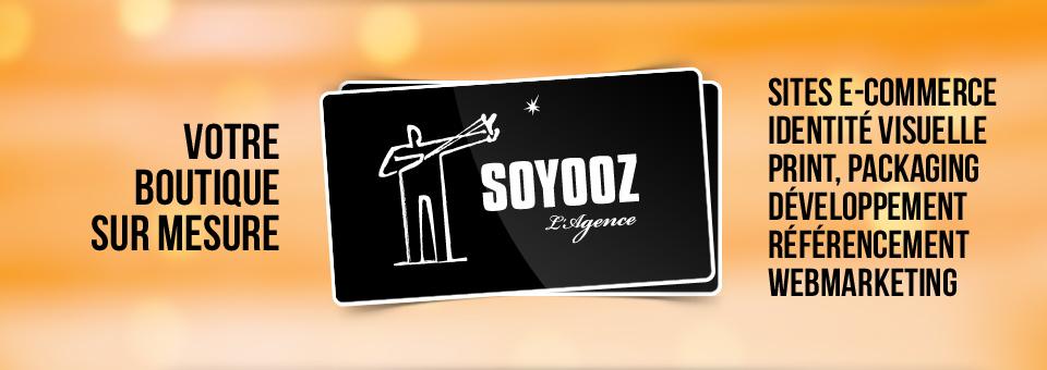 Votre boutique sur mesure avec l'agence Soyooz