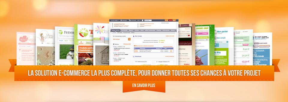 Notre solution Rentashop pour vos projets e-commerce